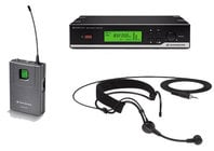 Wireless Headworn Microphone System wth ME3 Headset Mic