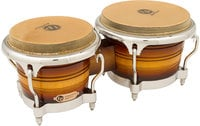 Generation II Bongos in Matte Sunburst Finish with Chrome Hardware