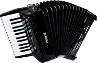 Roland FR1X V-Accordian Piano-Type Digital Accordion in Black with Speaker