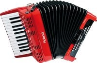 Roland FR-1x V-Accordion Piano-Type Digital Accordion in Red with Speaker