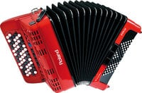 Roland FR1XB V-Accordion Button-Type Diatonic Digital Accordion in Red with Speaker