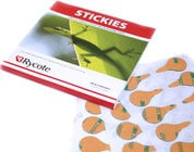 100-Pack of Stickies Single-Use Lavalier Mic Mounts