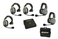 Eartec Co COMSTAR-XT5 5 Person Wireless Intercom System COMSTAR-XT5