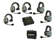 Eartec Co COMSTAR-XT6 6 Person Wireless Intercom System COMSTAR-XT6