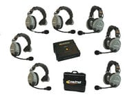Eartec Co COMSTAR-XT7 7 Person Wireless Intercom System COMSTAR-XT7