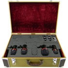 Avantone CDMK-4 Drum Mic Kit With 4 Microphones And Tweed Case