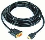 DVI-D to HDMI Cable, 5.4'