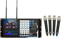 Wireless PA System, 4 Ch