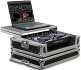 Flight Ready® Glide Style™ Case for Denon DN-MC3000, DN-MC6000 with Laptop Holder