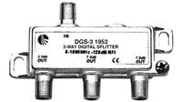 Blonder-Tongue DGS-3  Splitter, Digital-Ready, 3-way DGS-3