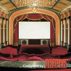 Draper 251037  Projection Screen, Cineperm, 148""