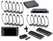 IR Listening Assistive System Package, 12,500s/ft, Single Channel