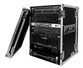 16U Deluxe Amplifier Rack Case