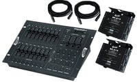 ADJ STAGE-PAK-1 DMX Lighting Controller Package STAGE-PAK-1