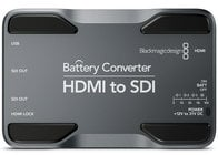 Blackmagic Design CONVBATT/HS HDMI to SDI Mini Converter with Battery