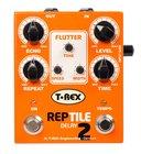 T-Rex REPTILE-II REPTILE 2 Delay Pedal for Guitar/Bass
