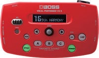 Boss VE5-RD Vocal Effects Processor, Red