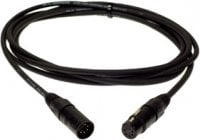 3 ft. 5-pin XLR-F to 5-Pin XLR-M DMX Cable