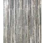 8 ft. Silver/Diffraction Slit Drape