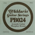 .024 Phosphor Bronze Acoustic Guitar String