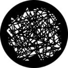 """Scribble"" Steel Gobo"
