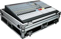 Case for Allen & Heath GL2400 424 Mixer, with Wheels