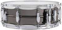"Ludwig Drums LB416 5""x14"" Black Beauty Brass Snare Drum with Black Nickel Finish"