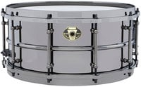 "Ludwig LW6514 6.5""x14"" Black Magic Brass Snare Drum"