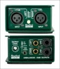 Passive Stereo Line Isolator/+4dB to -10dB Converter with Radial Transformers