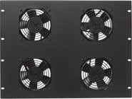 Lowell FW4-7  7RU Panel with 4 Fans
