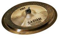 """Sabian 15005MPL HH Low Max Stax Cymbal Set 12"""" Max Stax China Kang and 14"""" Max Stax Crash in Natural Finish"""
