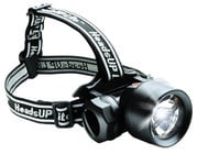 HeadsUp Lite Recoil LED Hands-Free Flashlight (Carded)