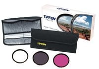 Tiffen 58DFK3 58mm Deluxe Filter Kit
