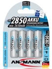 Ansmann USA AA Rechargeable 4-Pack, 2850 mAH