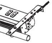 Leprecon 40-06-1389 ULD-340/360 Secondary Hanging Bracket for Horizontal Mount