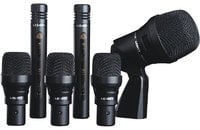 Drum Pack Microphone Kit (Cardioid Only)
