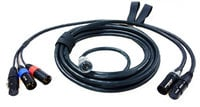 M3 7-Pin Quick Release Cable System Set: 18 ft. Hirose 10-Pin Mixer End & 30.5