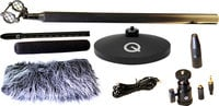 Mini Shotgun Microphone Kit with Shockmount, Shoe Mount, etc.