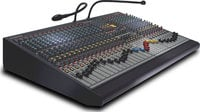 16 Channel Mixing Console, 4 Group, 6 Aux, LR Mix, Dual Function, 7x4 Matrix (24 Channel Version Shown)