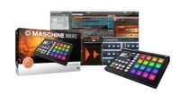 Native Instruments MASCHINE-MIKRO-MK2-B MASCHINE MIKRO Mk2 Hardware/Software Instrument Groove Box in Black