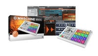 Native Instruments MASCHINE MIKRO Mk2 Hardware/Software Instrument Groove Box in White MASCHINE-MIKRO-MK2-W