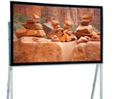"""Draper Shade and Screen 241283  120"""" Ultimate Folding Screen Portable Projection Screen, Matte White"""