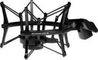 Neumann EA4-NEUMANN-BLACK EA 4 bk Elastic Suspension Mount in Matte Black Finish for TLM 102, Sennheiser MK4 Microphones