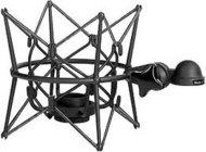 Neumann EA87-BLACK EA 87 mt Elastic Suspension Mount in Matte Black Finish for U 87 Ai Microphone