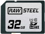 Hoodman Corporation RAWSDHC32GBU1  32GB STEEL UHS-1 CARD