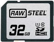 Hoodman RAWSDHC32GBU1  32GB STEEL UHS-1 CARD