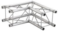 Global Truss SQ-F24-C21 1.64 ft 2 Way 90° Corner Junction SQ-F24-C21