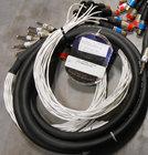 """Pro Co MTIPT0816XFXM-15 15 ft. 8x 1/4"""" TRS to 8x XLR-M/8x XLR-F Insert Snake"""