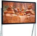 """Draper Shade and Screen 241252  220"""" HDTV Ultimate Folding Screen Portable Projection Screen, with Heavy-Duty Legs"""
