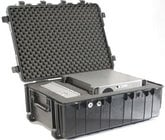 Large O.D. Green Transport Case with Wheels